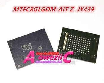Aoweziic  100% new original MTFC8GLGDQ-AIT Z   JY447 MTFC8GLGDQ  MTFC8GLGDM-AIT Z  JY439  MTFC8GLGDM BGA  Memory chip