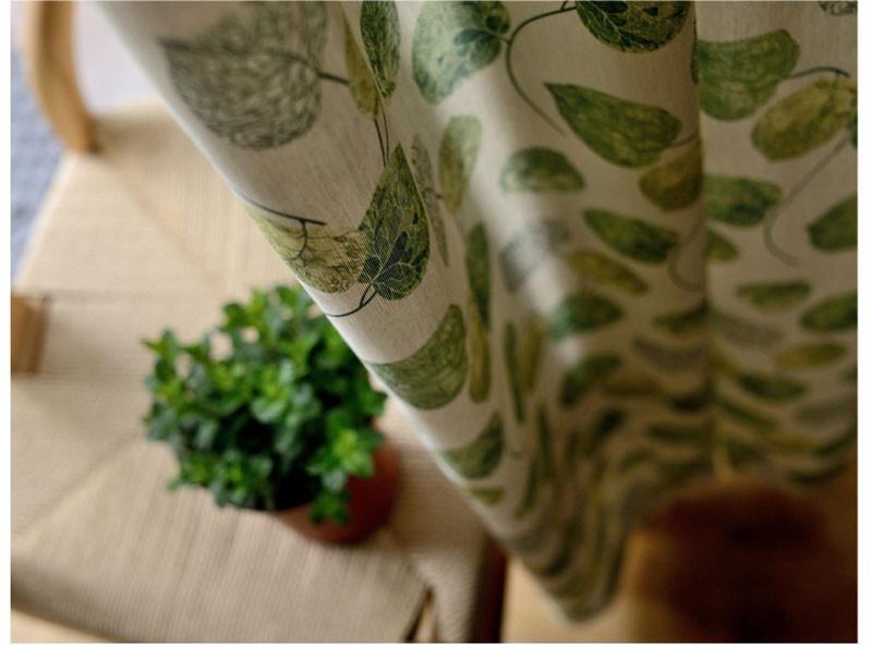 Keuken Gordijn 8 : Groene keuken gordijn patronen bladeren pastorale stijl deur divider