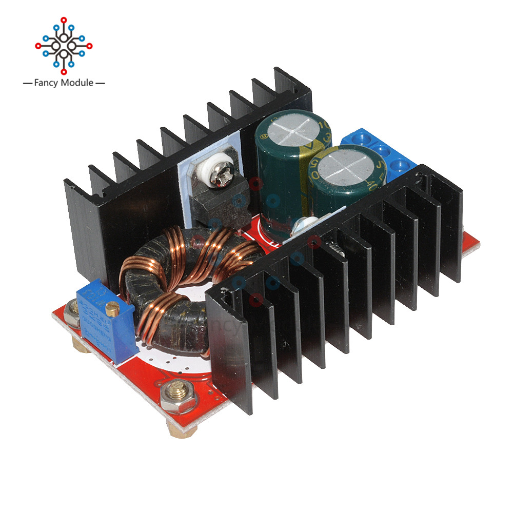 DC-DC Boost Converter DC DC Step Up Converter Module Adjustable Static Power Supply Voltage Regulator Step Up Module 150W 5pcs dc dc step up converter booster dc dc power supply module adapter output 2a 28v for arduino step up power board mt3608