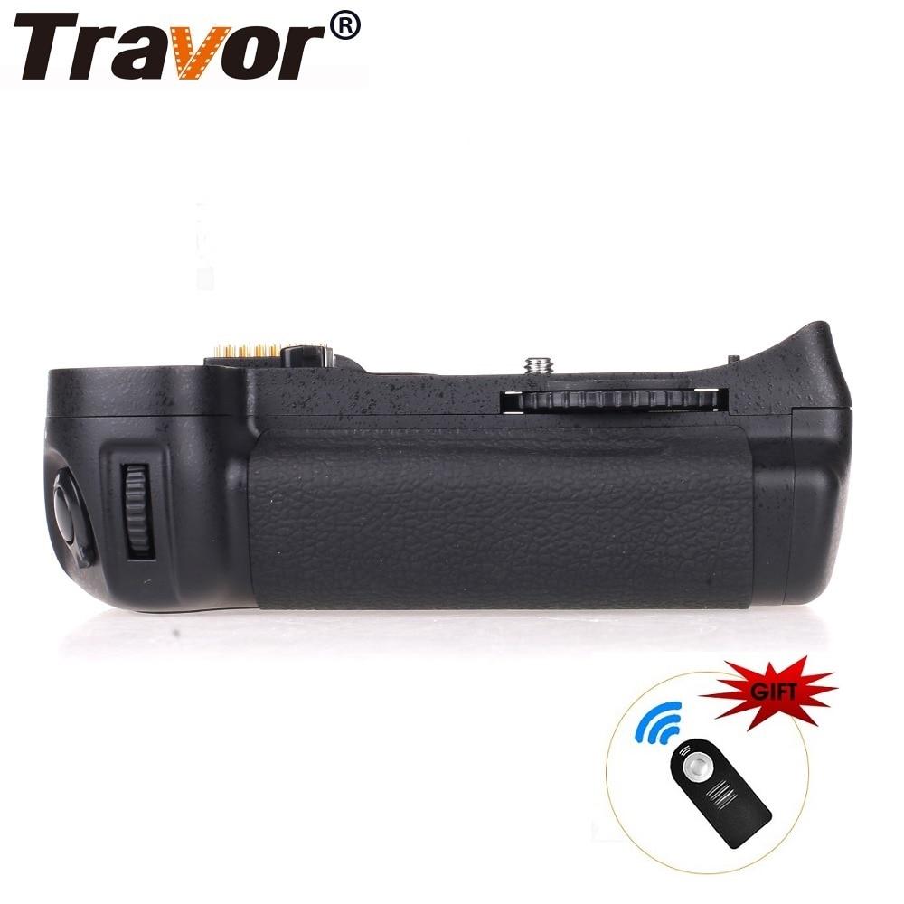Travor Camera Battery Grip Holder For Nikon D300 D300S D700 DSLR Battery Handle Replace MB-D10 Gift Remote Control