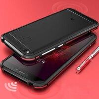 Xiaomi redmi 4x чехол Роскошные Алюминий Металл 5 дюймов Бамперы для смартфонов Xiaomi Redmi 4X случае двойной Цвет Xiaomi Redmi 4X бампер чехол для Xiaomi Redmi 4 x чех...