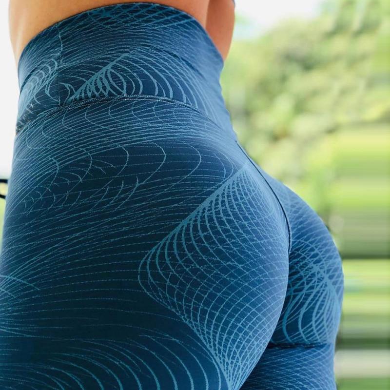 LAISIYI New Women 3D Print Leggins Plus Size Women Workout   Leggings   High Waist Slim Fitness   Legging   Sporting 25 Styles Pants
