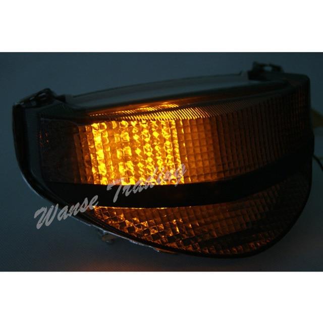 Waase Rear Taillight Tail Brake Turn Signals Integrated Led Light Lamp Smoke For 2000 2001 HONDA Fireblade CBR 929 RR CBR929RR