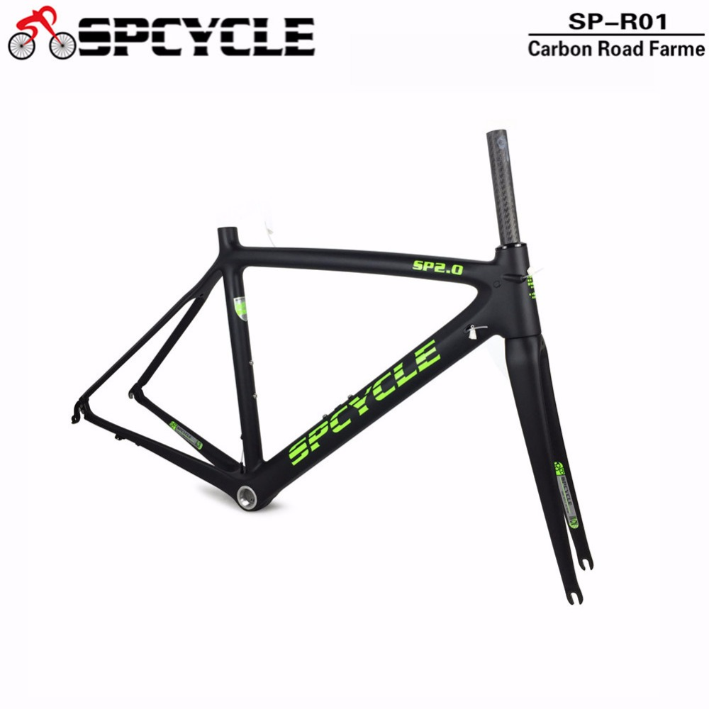 2018 New Carbon Road Frame Bike Racing Carbon Frames T1000 Cycling Bicycle Road Framesets Chinese Carbon Frames In Stock 2018 carbon fiber road bike frames black matt clear coat china racing carbon bicycle frame cycling frameset bsa bb68