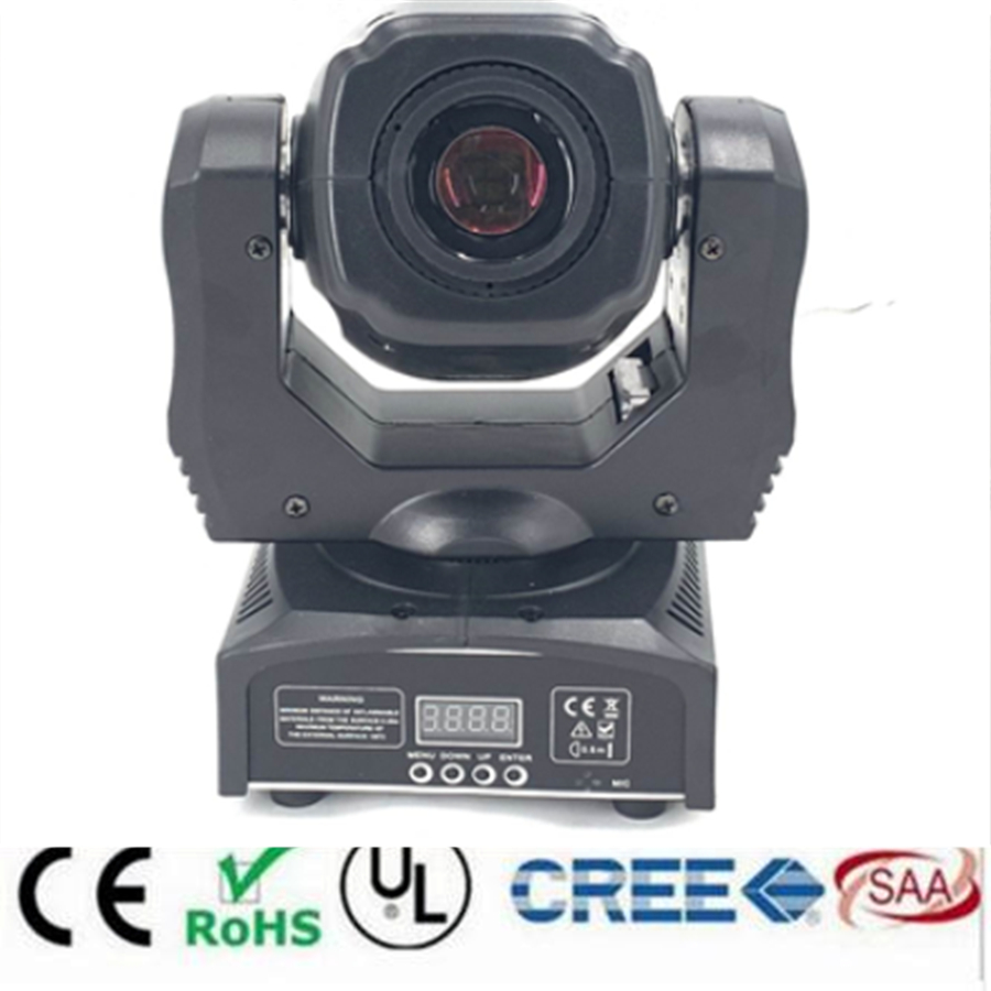 2019 HOT LED 65W Mini Led Spot Moving Head Light 60W Max Gobo Beam Moving Heads Lights Super Bright  LED DJ Spot Light