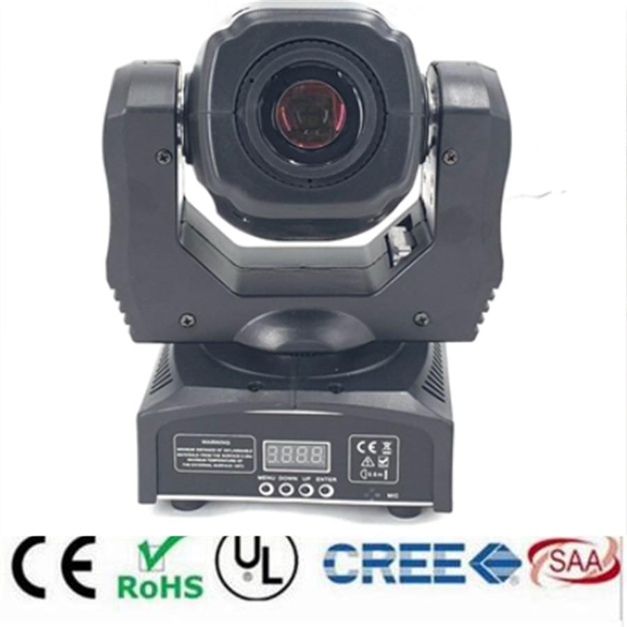 2019 HOT LED 65W mini led spot moving head light 60W max gobo beam moving heads lights super bright  LED DJ Spot Light