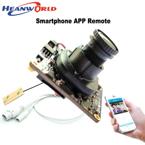 Image 4 - 1080P WiFi Camera Wireless IP Camera Wifi HD 2.0MP 720P Onvif Security Camera Module with  Antenna SD Card Slot Audio Port