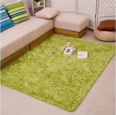 Épais 4.5 cm chaud anti-dérapant tapis et tapis pour salon chambre plancher personnalisé Shaggy chambre tapis - 3
