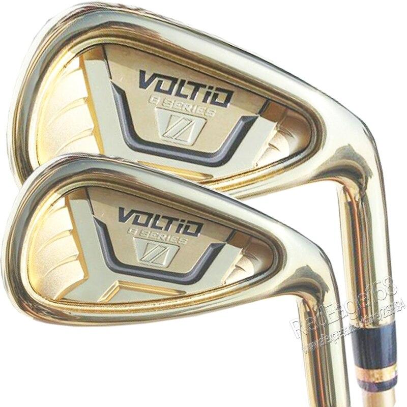 Nuevos mens golf clubs katana voltio hola hierros de golf iv conjunto 4-9.PAS Cl