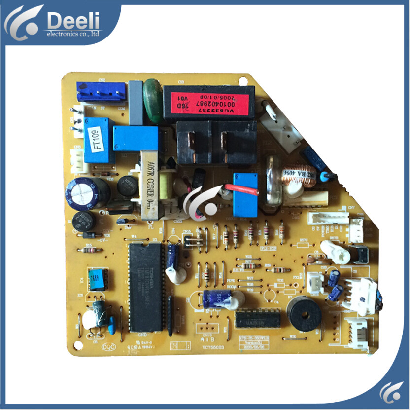 95% new good working for Haier Air conditioning computer board 0010402987 KFR-32GW/Z circuit board 95% new for haier refrigerator computer board circuit board bcd 198k 0064000619 driver board good working