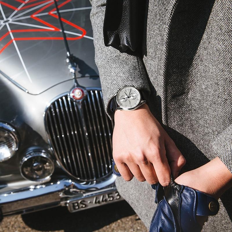 Marca suiza original AGELOCER Relojes Reloj cronógrafo casual Reloj - Relojes para hombres - foto 3