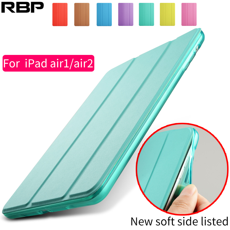 RBP Case for iPad Air 2, yue Color PU+ Back Ultra Slim Light Weight Case for iPad Air Soft TPU Bumper Edge for ipad air 2 case
