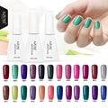 Azure Beauty 29 Colors Long Lasting Gel Polish Colorful Rainbow Nail Gel 12ml UV Gel Soak Off UV Color Gel Nail Polish