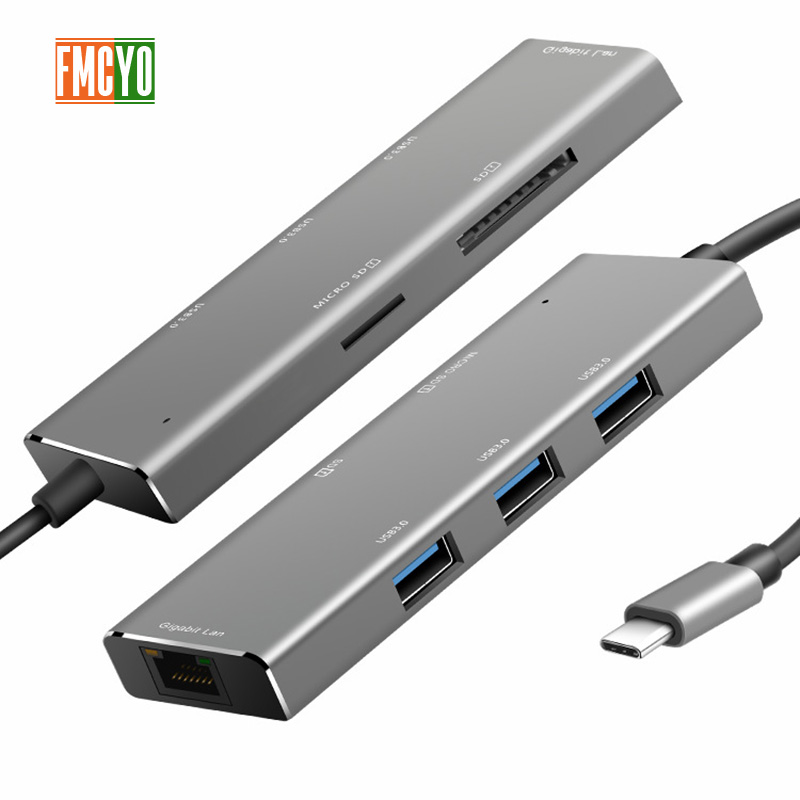 Image 2 - Laptop docking station All in One USB C to HDMI Card Reader  PD Adapter for MacBookType C HUB-in Laptop Docking Stations from Computer & Office