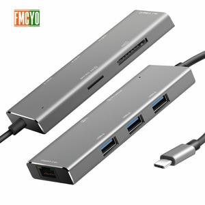 Image 2 - Laptop docking station Alles in een USB C naar HDMI Kaartlezer PD Adapter voor MacBookType C HUB