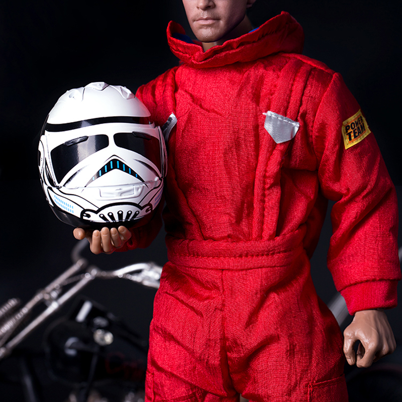 1 6 Scale Red Jumpsuit Coverall Clothes Space Cotton Toy Motorcycle Clothing Fits Doll Fit 12 Inch PHicen Action Figures Annex in Action Toy Figures from Toys Hobbies