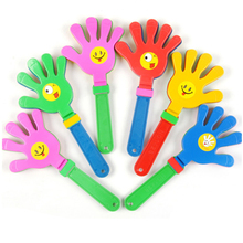 1pc Fashion colorful hand clapper Concert party cheering props children clap Noise Makers small hands clapping toy