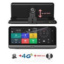 4G ADAS Car Camera GPS 7.84″ Android 5.1 Car DVRs WIFI 1080P Video Recorder Registrar dash cam DVR Parking Monitoring