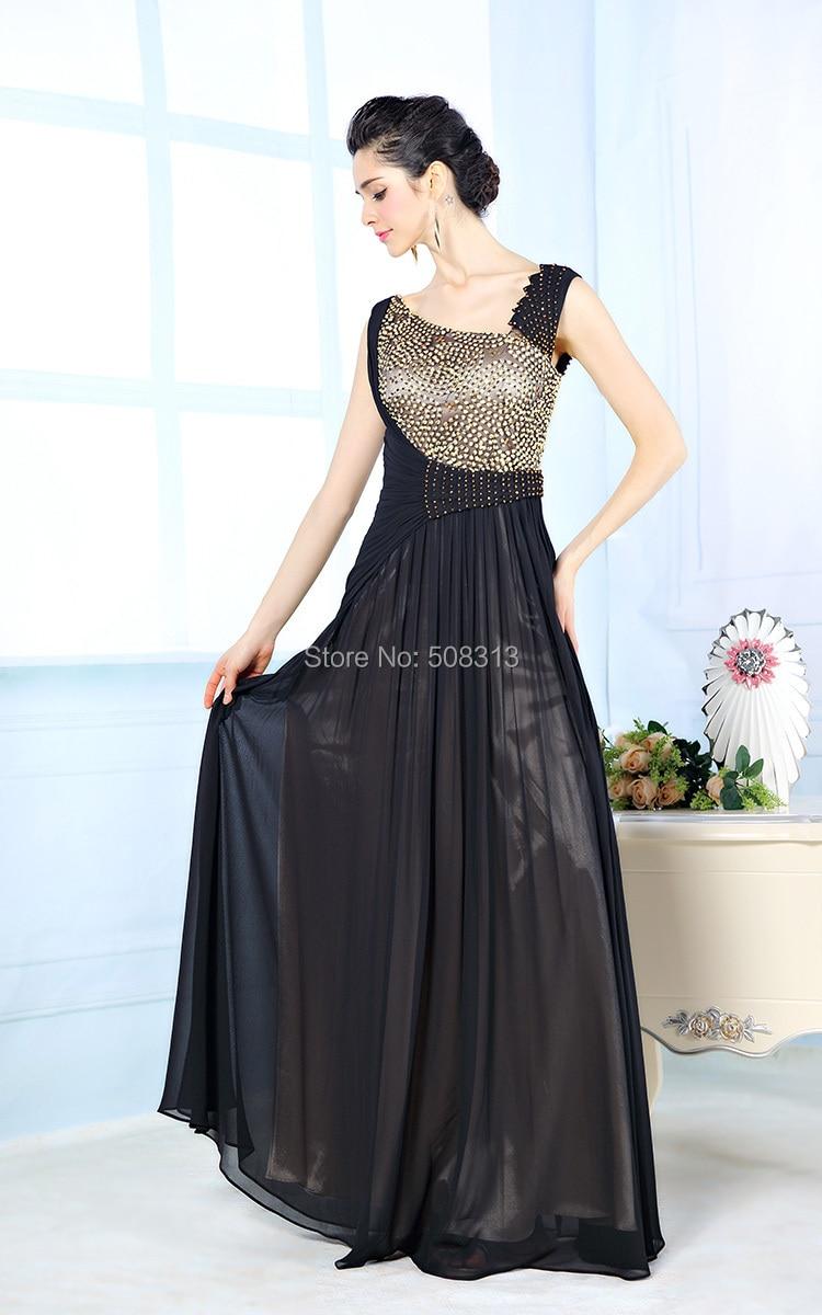 bf71af87364 Designer Evening Dresses Sexy V neck Crystal Beaded Dress A line ...
