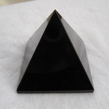 6cm Crystal Iridescent Pyramid Prism Rainbow Color Home Decor FengShui Reiki Hea