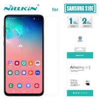 Di Nillkin per Samsung Galaxy S10E di Vetro 9 H + Pro Temperato Protezione Dello Schermo di Vetro Ultra-Sottile Per Samsung Galaxy s10 E Nilkin di Vetro