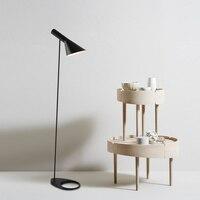 Nordic Arne Jacobsen Design AJ Led Floor Lamps Living Room Floor Lamp Bedroom Bedside Lamp Floor Standing Light Luminaria