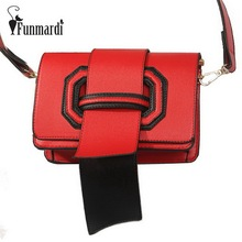 FUNMARDI Luxury Tongue design PU leather women bags star style women messenger bag Fashion trendy crossbody bag WLHB1557