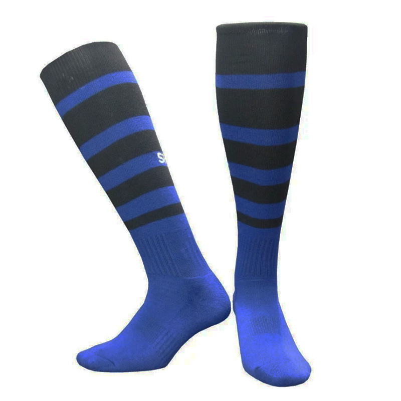 2017 Season Netherlands Mens Football Training Socks Home Blue Socks Away White Spurs Stockings Soccer Socks