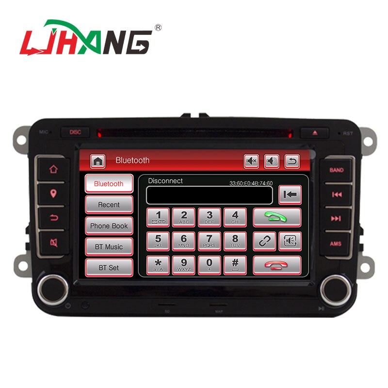 LJHANG lecteur multimédia de voiture 7 pouces 2 Din pour VW POLO/GOLF/PASSAT b6/golf 5/Skoda Octavia/SEAT LEON autoradio USB Headunit RDS - 2