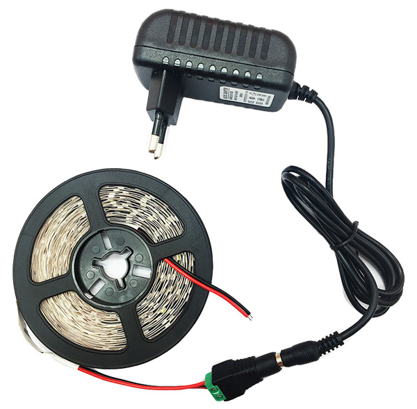 5 meter 300Leds Non-waterproof RGB Led Strip Light 2835 DC12V 60LedsM Flexible Lighting String Ribbon Tape Lamp Home Decoration (4)(1)