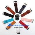22 mm correa de piel genuina pulsera band para Moto 360 reloj inteligente correa + herramienta multicolor