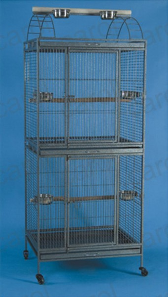 Online get cheap double bird cage for Cheap c c cages