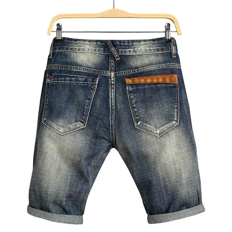 2018 Men Summer Denim Shorts Male Jeans Men Jean Shorts Bermuda Skate Board Mens