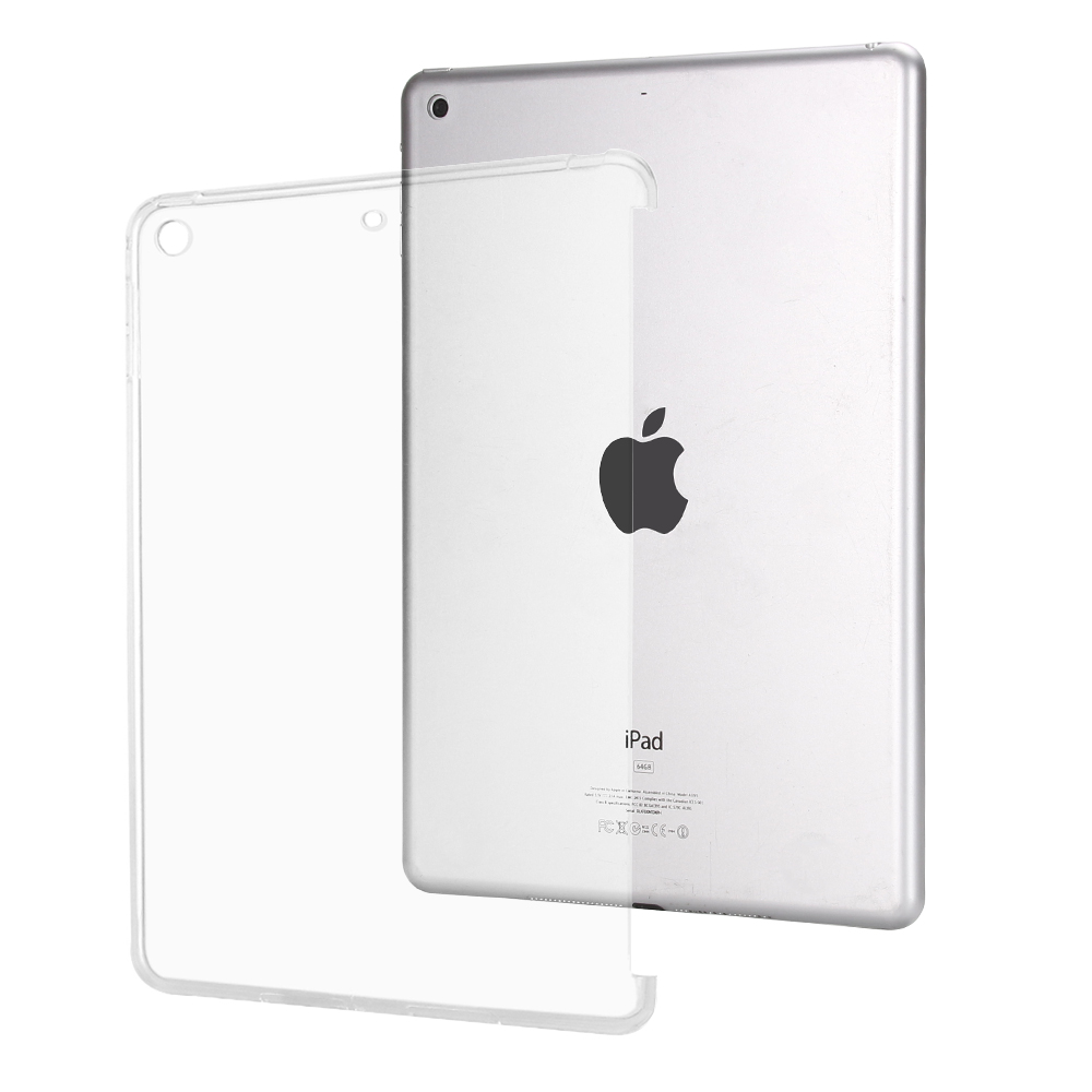 Soft TPU Tablet Back Case Cover For iPad Air 9.7 Silicone Transparent Cover Ultra Thin Crystal Protective Case