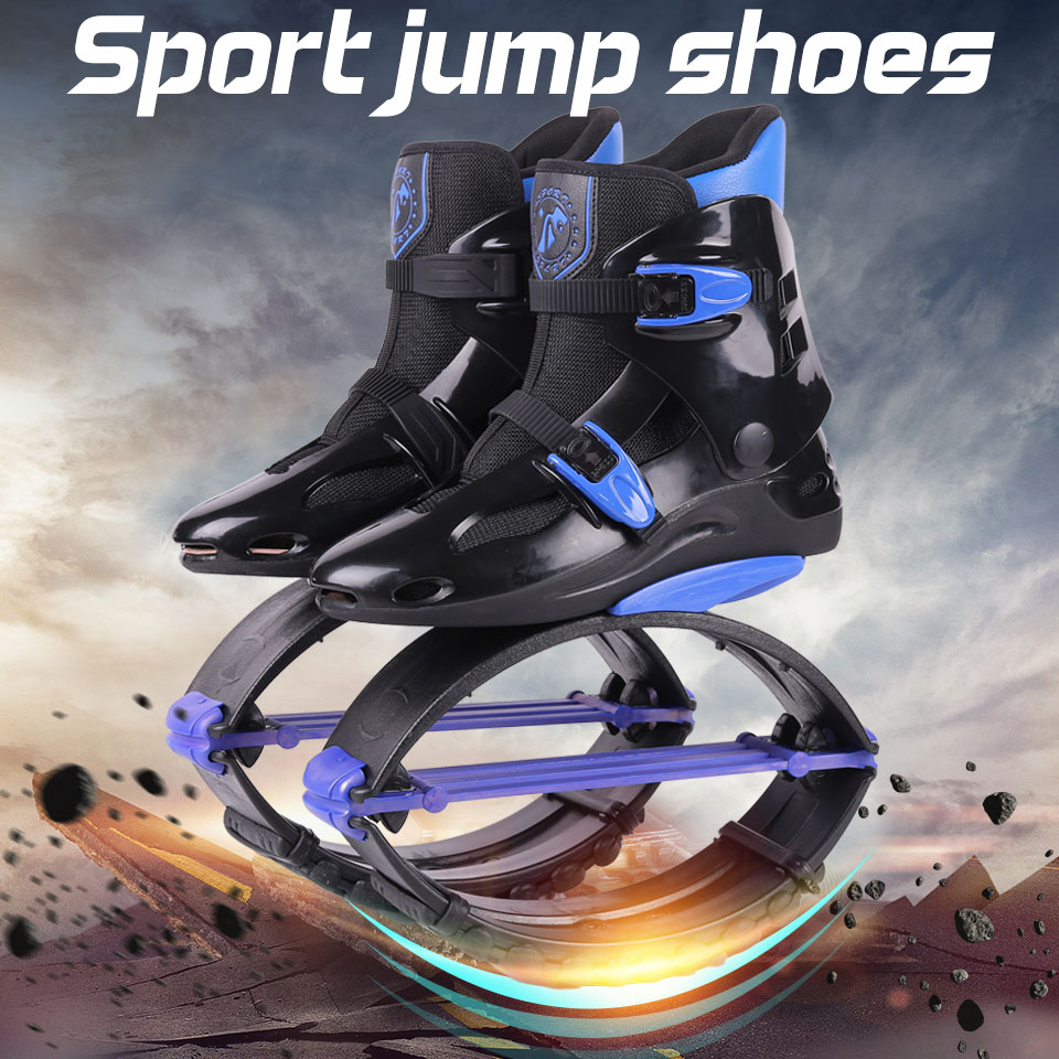 <font><b>Fitness</b></font> kangaroo jumping Shoes Unisex Outdoor Bounce Sports Jump Shoes Jumping Boots New Style Size 19/20
