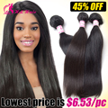 100% Cheap Brazilian Virgin Human Hair Bundle Deals Brazilian Virgin Hair Weaving Products Virgin Brazilian Kinky Straight Hair