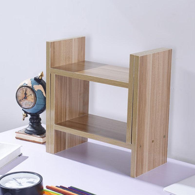 new arrival 4b4dc 99d6a US $49.99 50% OFF DIY Multi purpose Desktop Book Shelf Retractable Bookcase  Children Student Mini Bookshelf Simple Desktop Storage Rack-in Bookcases ...