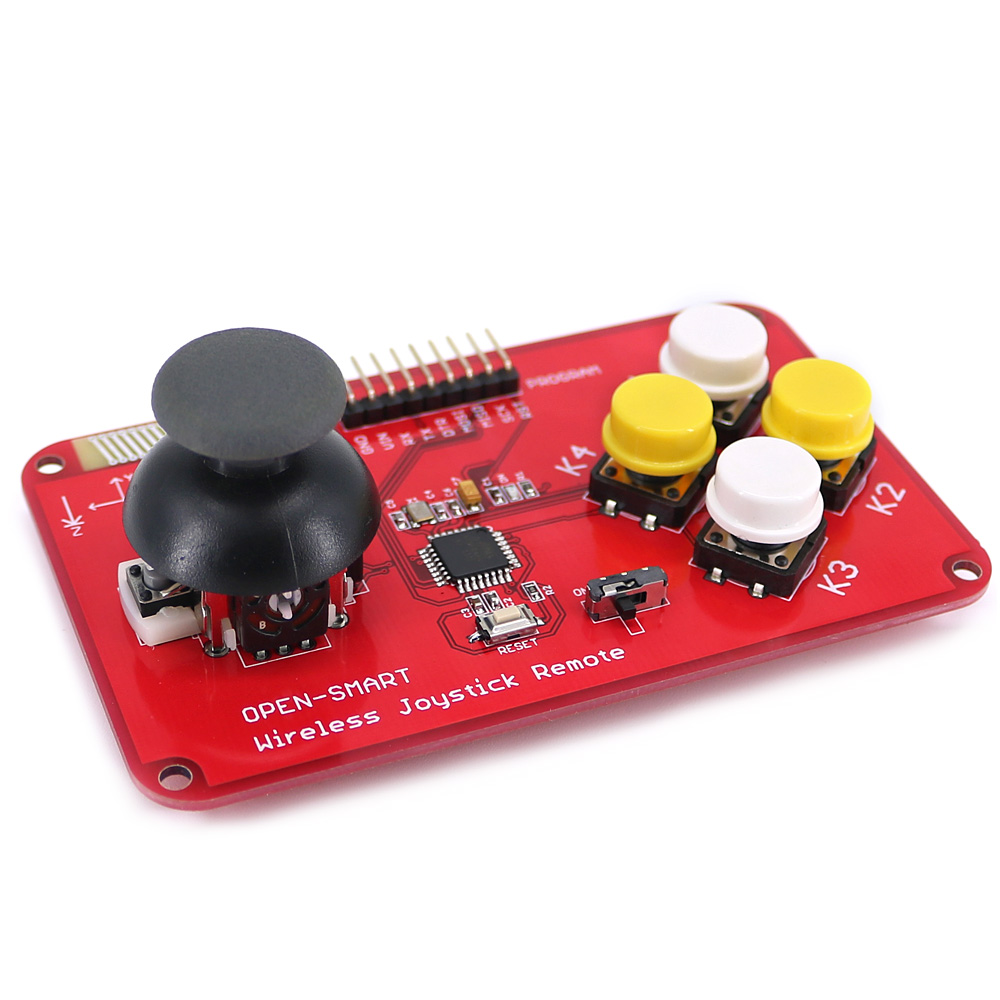 Image 5 - PS2 Joystick Keypad RF 433MHz Wireless Joystick Game Remote Controller Module Transceiver Kit for Smart Car / 4 axis Aircraft-in Industrial Computer & Accessories from Computer & Office