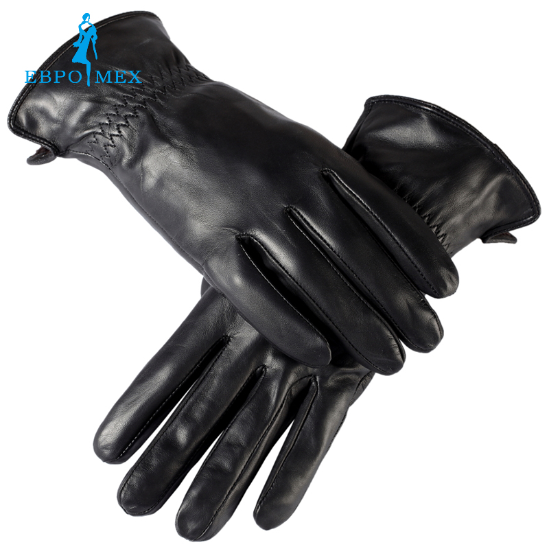 Brand Sales leather gloves mens