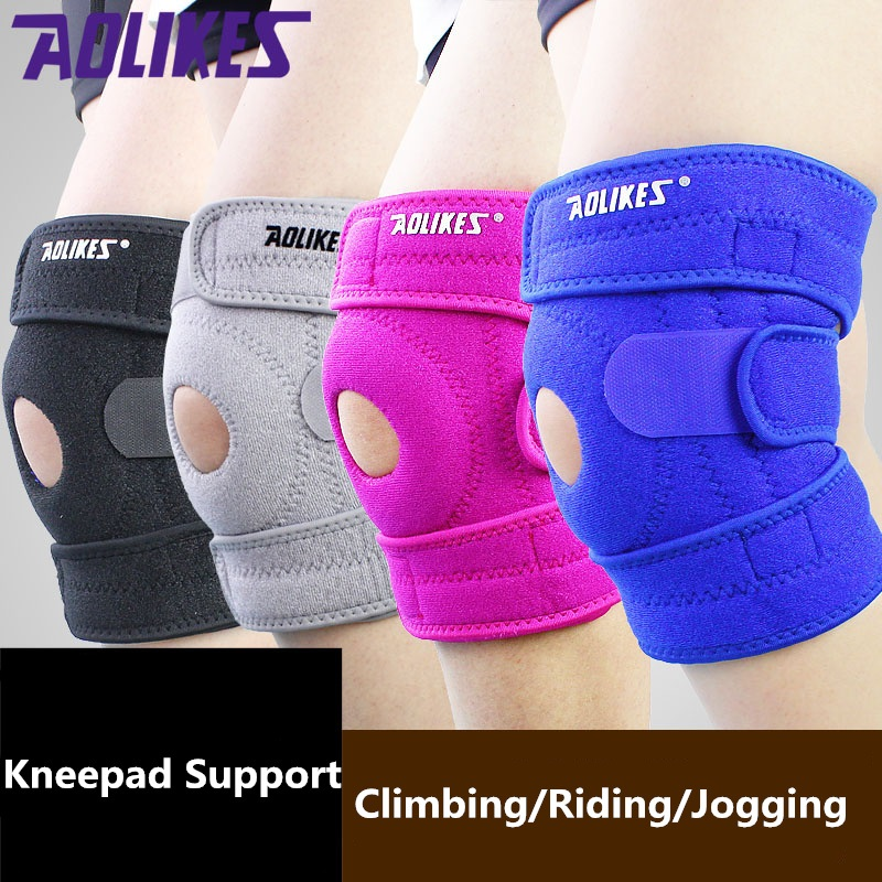 Sport Leg Knee Support Knee pad Protector Safety Kneepad Sleeve for running clapping jogging