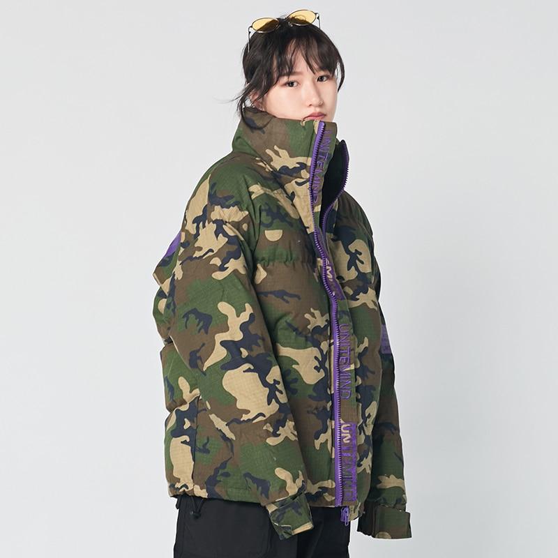 Lâche Manteau Ouatée Femmes Chaud Camouflage Mode D'hiver Coton Veste Femelle Armygreen Épais Occasionnel Parka De ZOiTXkuwP