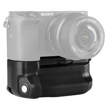 Meike MK A6300 Verticale Multi Power Battery Hand Grip voor Sony A6300 A6000 A6400 Camera werk met 1 of 2 NP FW50 batterij
