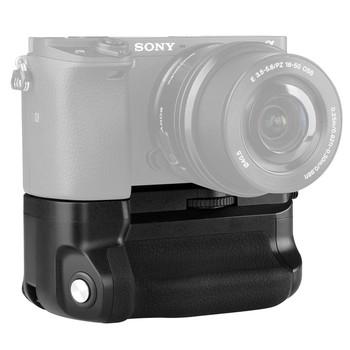 Meike MK-A6300 pionowe wielu moc baterii uchwyt do Sony A6300 A6000 A6400 praca kamery z 1 lub 2 NP-FW50 baterii tanie i dobre opinie Vertical battery grip for Sony A6000 A6300 1 or 2 * NP-FW50 (not included) 7 2V-8 4V 0-40℃ 121*65*90 mm
