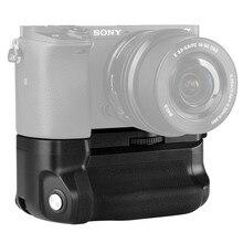 Meike Vertical Multi Power Bateria Aperto de Mão para Sony A6300 MK A6300 A6000 A6400 trabalho de Câmera com 1 ou 2 NP FW50 bateria