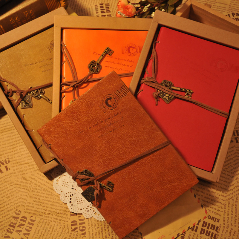 Hard Cover Business Vintage Notebook Emboss Leatherette Elastic Bandages Bullet Journal Bujo picard 7051