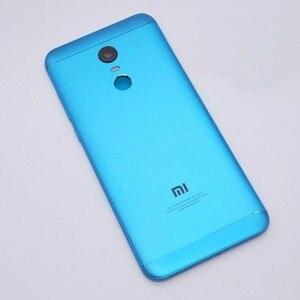 Image 3 - 新 Xiaomi Redmi 5 プラス (MEE7) スペアパーツバック住宅 + サイドボタン + カメラフラッシュレンズ交換