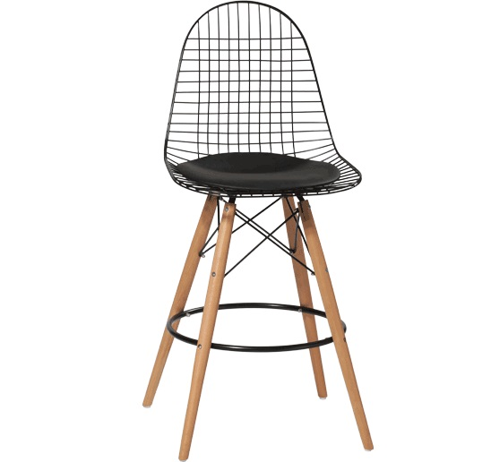 Terrific Us 228 0 Minimalist Modern Design Metal Steel And Wood Leg Counter Bar Stool Bar Dining Chair Famous Design Bar Furniture Powder Coating In Bar Gmtry Best Dining Table And Chair Ideas Images Gmtryco