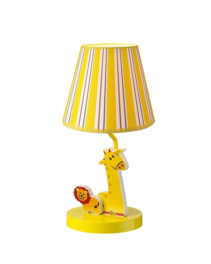 kids lamps lion giraffe theme table lamp children light bedroom led light for children 39 s room. Black Bedroom Furniture Sets. Home Design Ideas