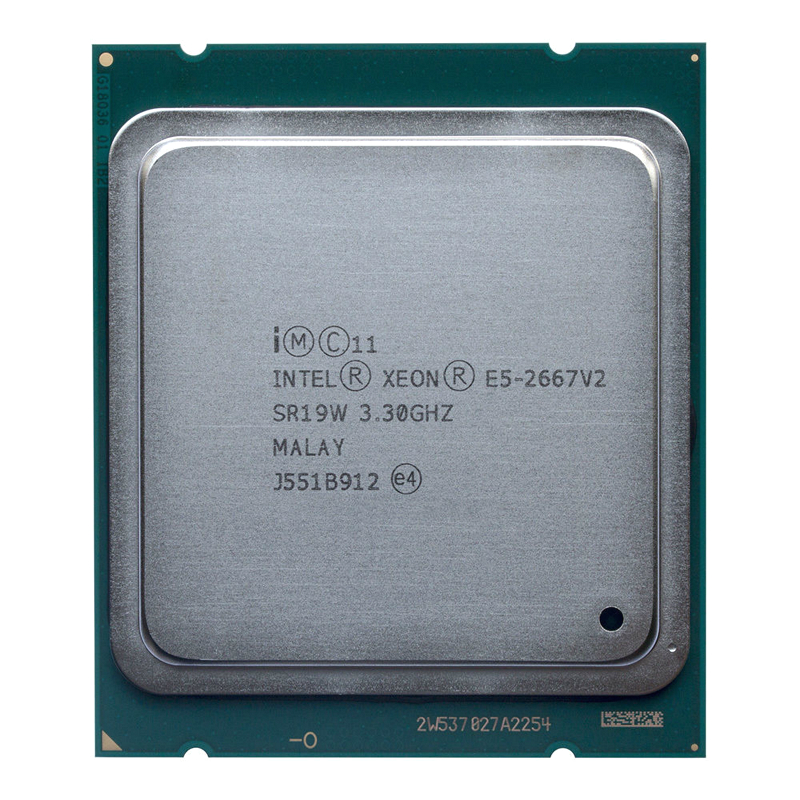 Intel Xeon E5 2667 v2 3.3Ghz 8Core 16Threads 25MB Cache SR19W 130W Processor-in CPUs from Computer & Office    1