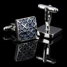 WN Luxury shirt cufflinks for mens Brand cuff button de manchette Colorful cuff links High Quality abotoaduras Jewelry